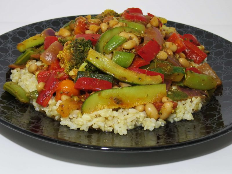 Cannellini Bean Stir-fry